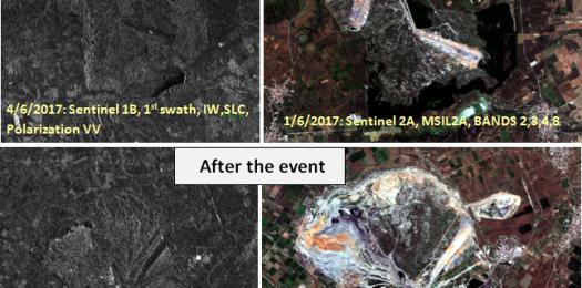 Μέθοδοι ανίχνευσης μεταβολών για την χαρτογράφηση μεγάλων εδαφικών υποχωρήσεων με χρήση δεδομένων Sentinel 1 και 2. Η περίπτωση του λιγνιτωρυχείου Αμυνταίου.