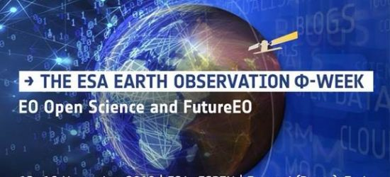 Participation in the ESA EARTH OBSERVATION Φ-WEEK, FRASCATI, 12-16/11, ITALY
