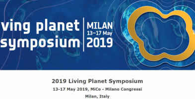Participation in Living Planet Symposium, 13-17 / 05/2019, Milan