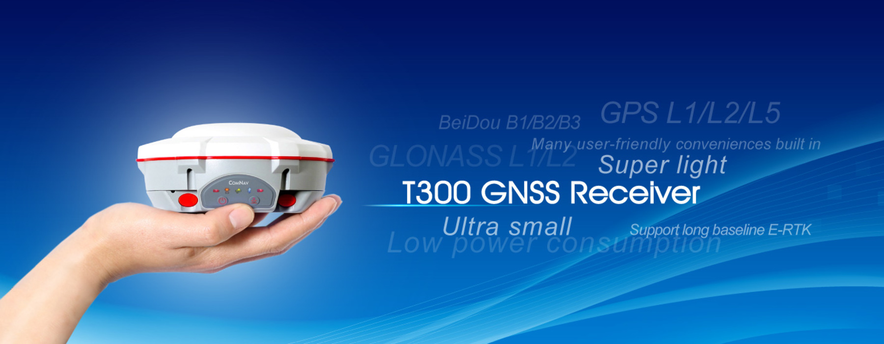 Special offer for COMNAV's  GNSS T300