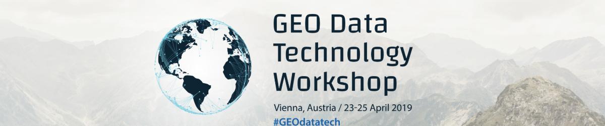 Συμμετοχή στο GEO Data Technology Workshop, 23-25/04/2019, Βιέννη