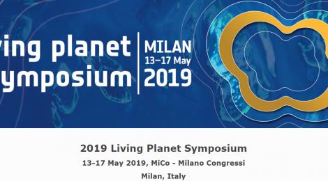 Συμμετοχή στο Living Planet Symposium, 13-17/05/2019, Μιλάνο