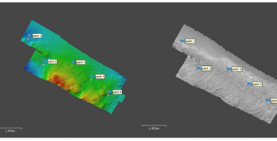 Scanning and georeferencing of negative aerial images for the National Greek Cadastre