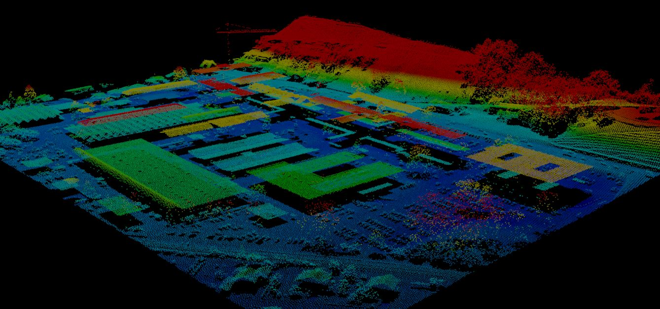 Acquisition and Processing of LiDAR data