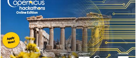 Copernicus Hackathon in Athens 2020
